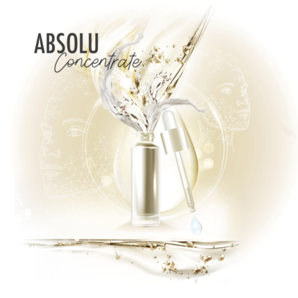 Absolu Concentrate: an innovating cosmetic serums range.